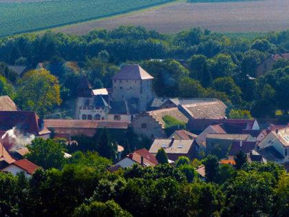 Burg Wachenheim gibt es zweimal